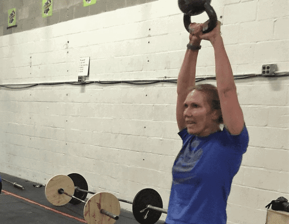 Andrea Tompkins: Getting something from every workout